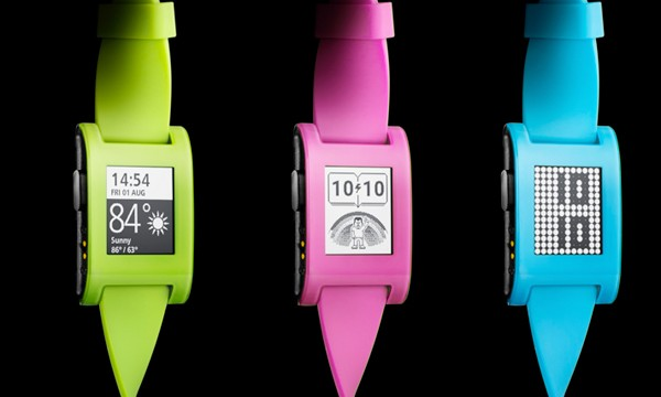 Pebble unveils limited-edition colors for its smart watch