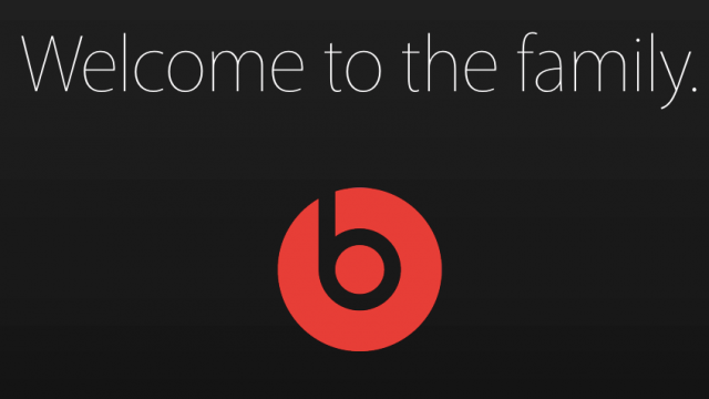 Apple welcomes Beats Music and Beats Electronics to the 'family'