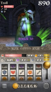 Test your luck and spin your way to victory in Dungeon Slots