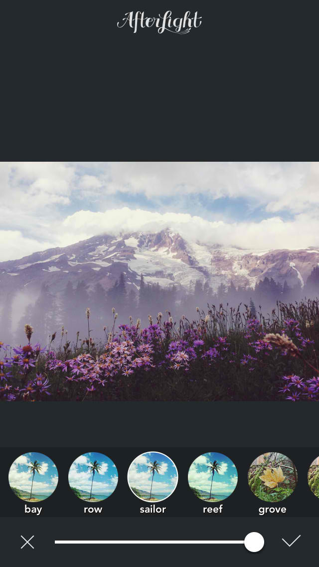 Afterlight updated for iOS 8 with new extension editor and ...