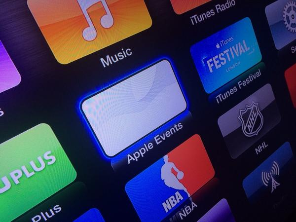 Apple TV channel for live streaming Apple's 'iPhone 6' event now available
