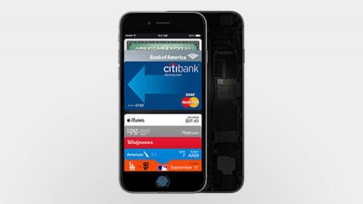 NFC technology in iPhone 6 and iPhone 6 Plus enabled for use only with Apple Pay