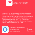 Apple features 'Apps for Health' on the App Store following release of iOS 8.0.2