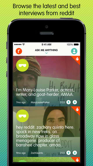 Reddit launches new official iOS app dedicated to Ask Me Anything interviews