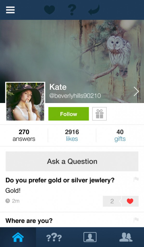 Social Q&A app Ask.fm updated with support for video answers and profile headers