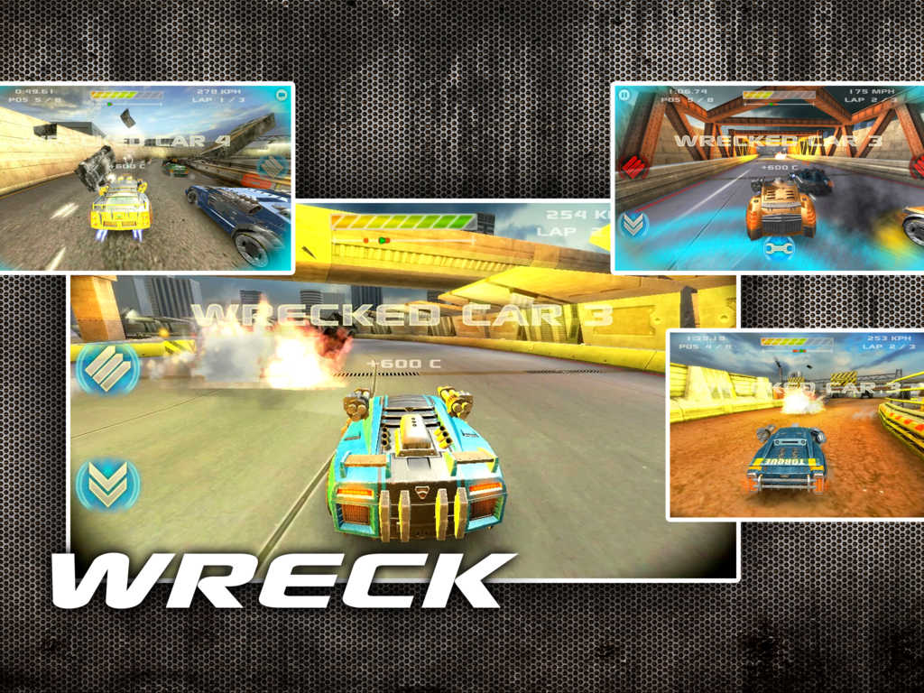 Battle Riders combat racing game zooms into the App Store to wreck the competition