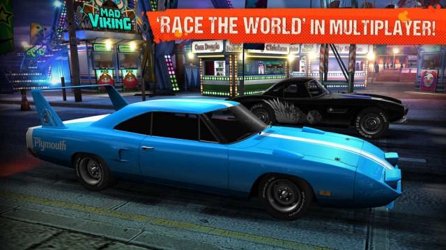 Zynga's NaturalMotion updates CSR Classics with online multiplayer racing