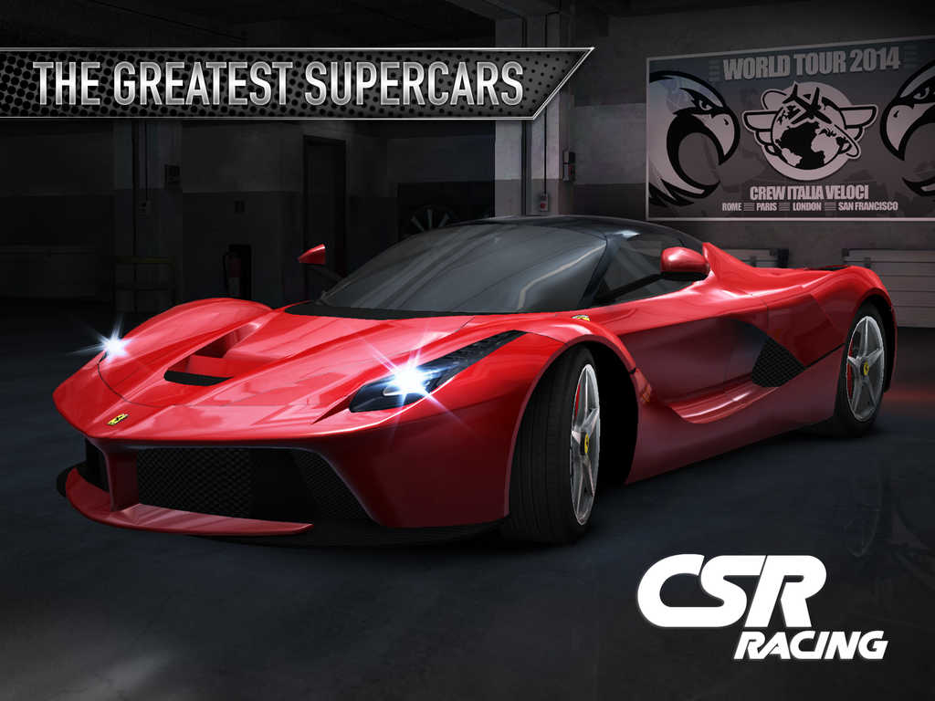 Zynga's NaturalMotion updates CSR Racing with new features focused on Ferrari
