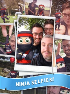 Zynga's NaturalMotion now lets you snap selfies with your very own Clumsy Ninja