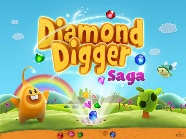 King officially releases 'Candy Crush Saga with gems' game Diamond Digger Saga for iOS