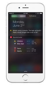 ESPN SportsCenter updated for iOS 8 with new Today widget and interactive notifications