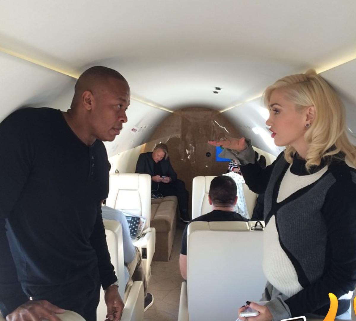 Gwen Stefani, Dr. Dre headed to Apple event