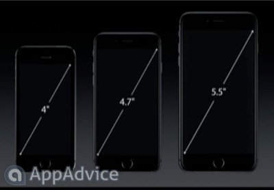 Apple's brand new iPhone 6 handsets have ion-strengthened screens