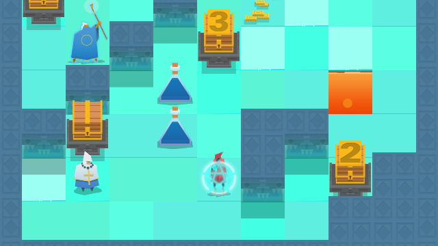 The Nightmare Cooperative is a charming puzzle roguelike that's all about teamwork