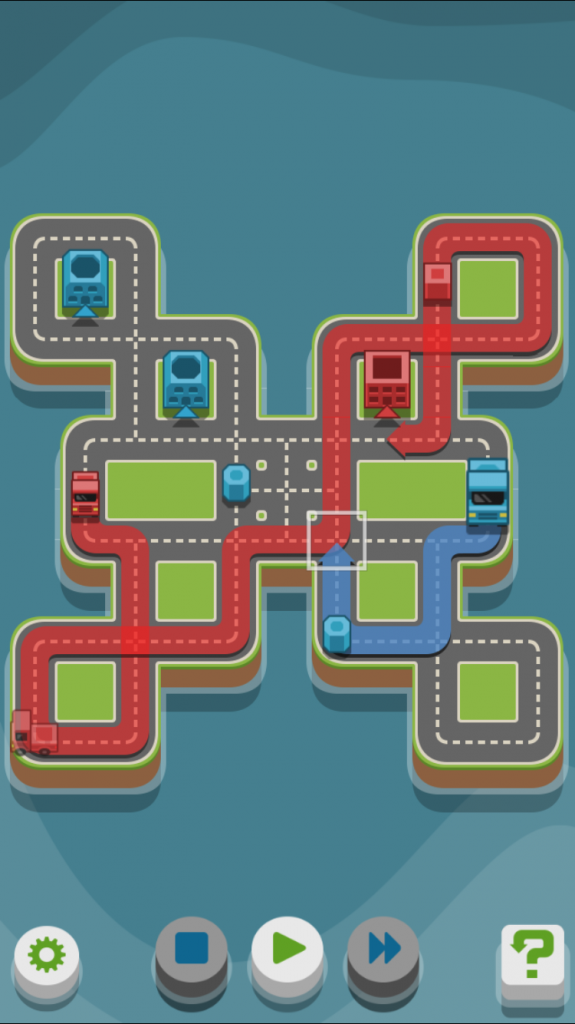 Strategize your routes and deliver colorful goods in RGB Express - Mini Truck Puzzle