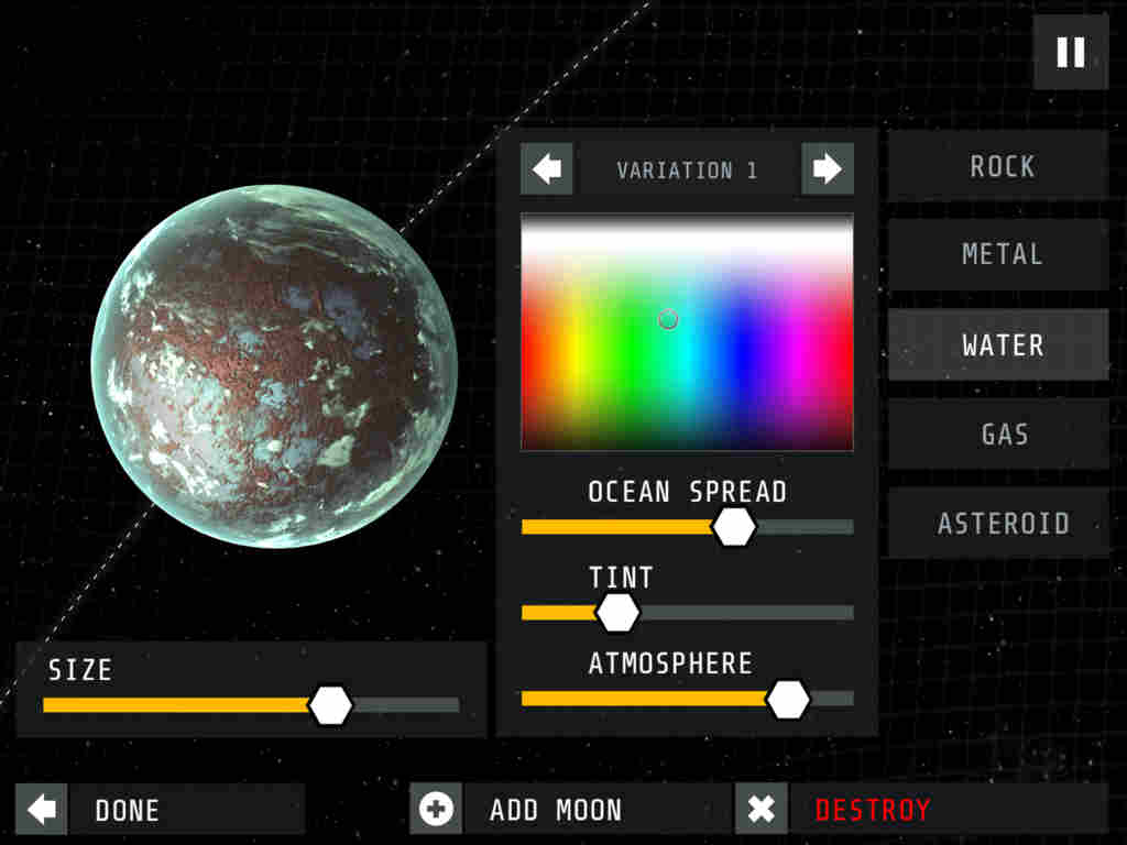 Create, explore and endure in the official iOS game of 'Interstellar'