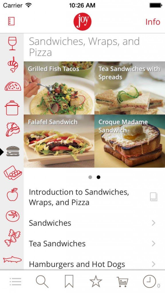 Joy of Cooking 2.0 serves universal support plus iOS 8 and iPhone 6 optimizations