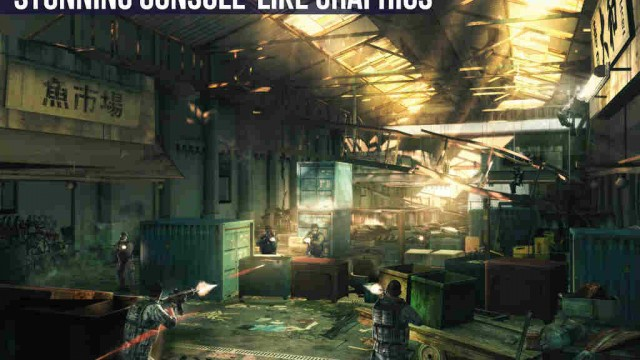 Gameloft updates Modern Combat 5: Blackout with Metal-enabled enhancements