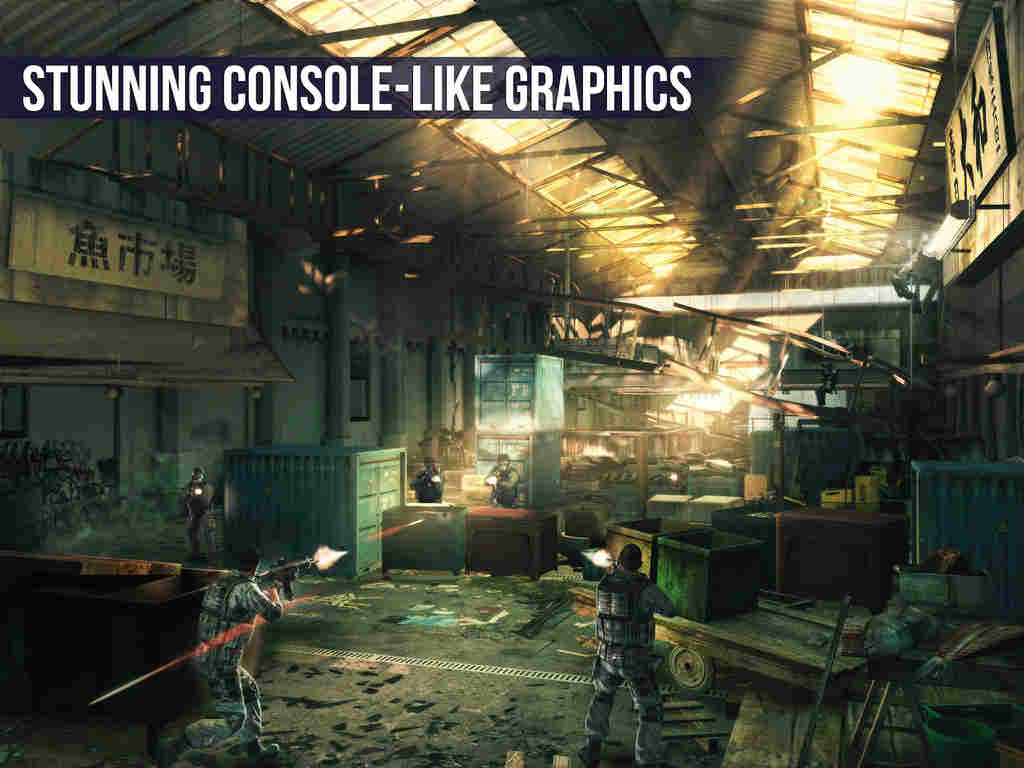 Gameloft updates Modern Combat 5: Blackout with Metal-enabled enhancements