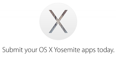 Apple calls for OS X Yosemite app submissions from developers