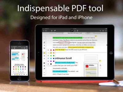 Readdle updates PDF Expert 5 with iOS 8 optimizations plus other enhancements