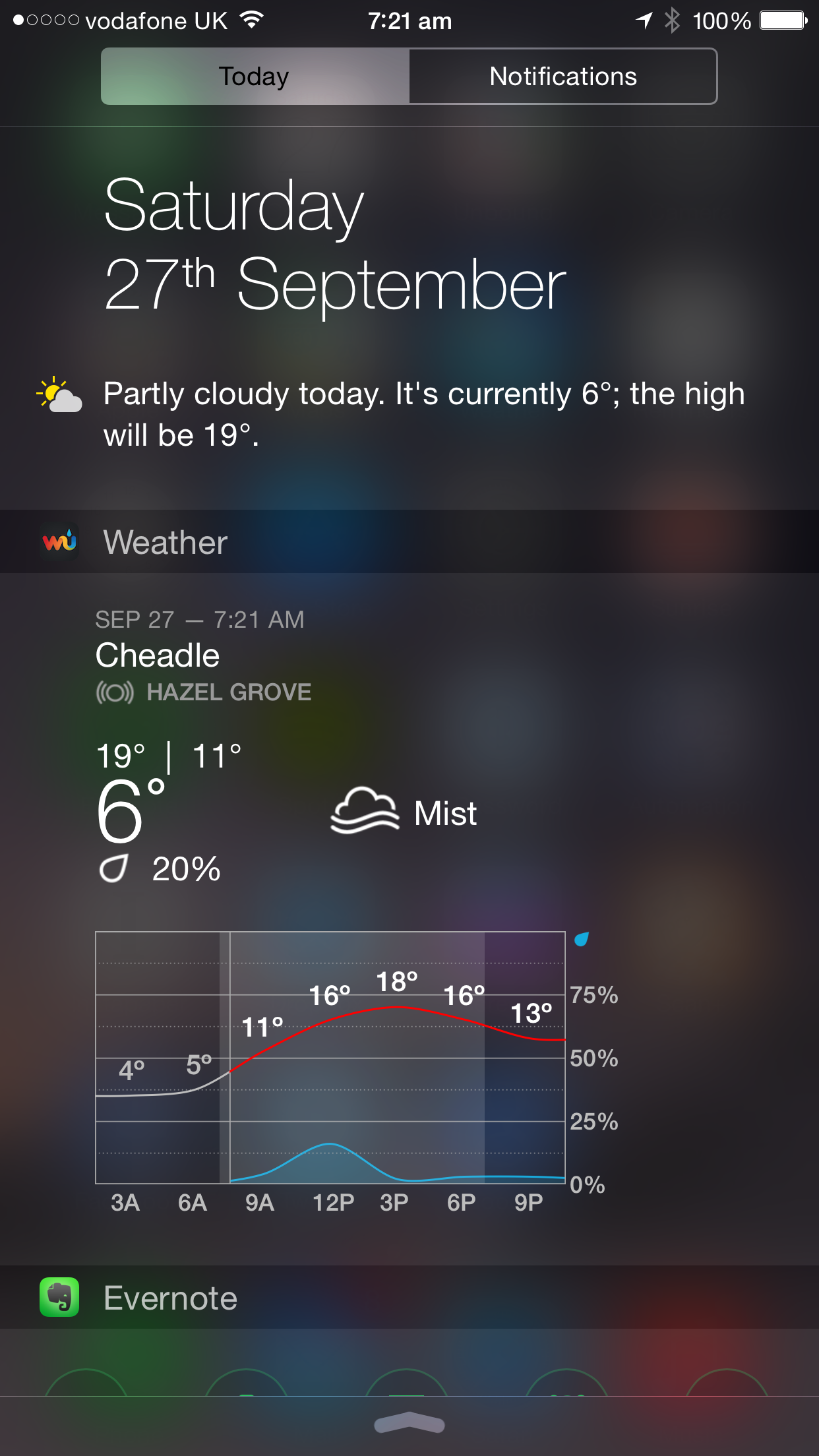 Weather Underground for iPhone gets an iOS 8 'Today' widget