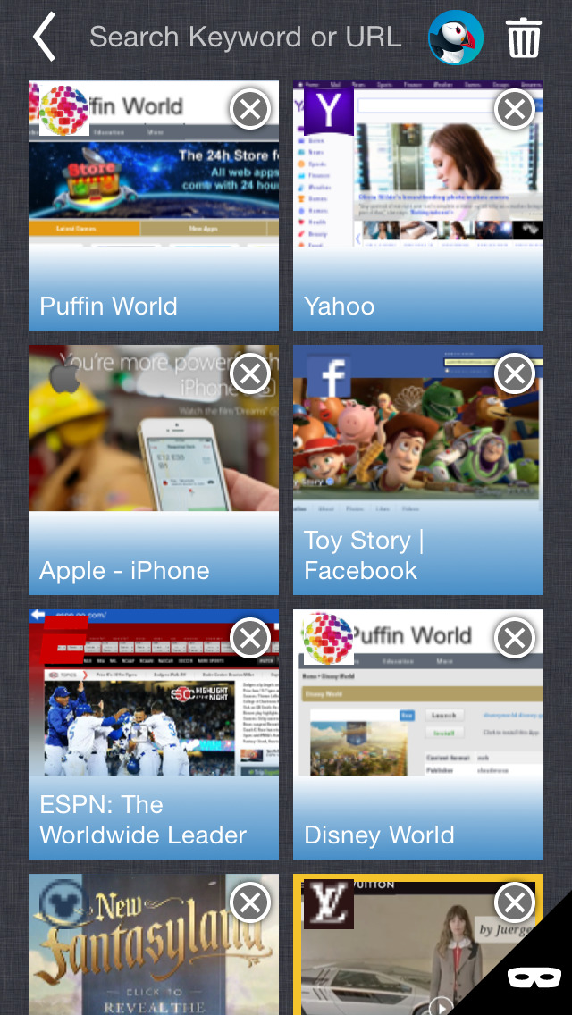Puffin Web Browser 4.0 features UI tweaks, search improvements and more