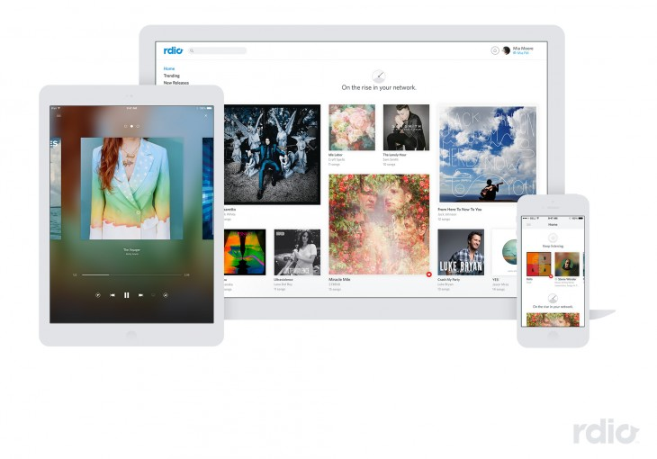 Rdio to soon introduce new free music streaming service along with major app redesign
