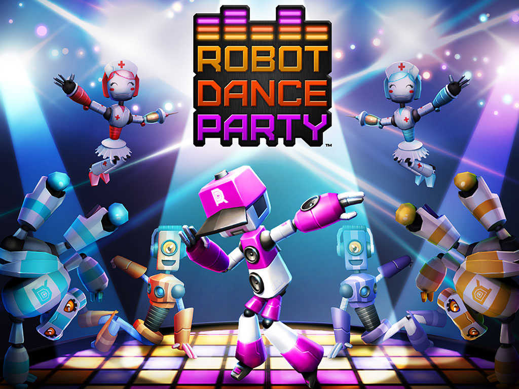 Dance your nuts and bolts off in DeNA's new Robot Dance Party rhythm-based game