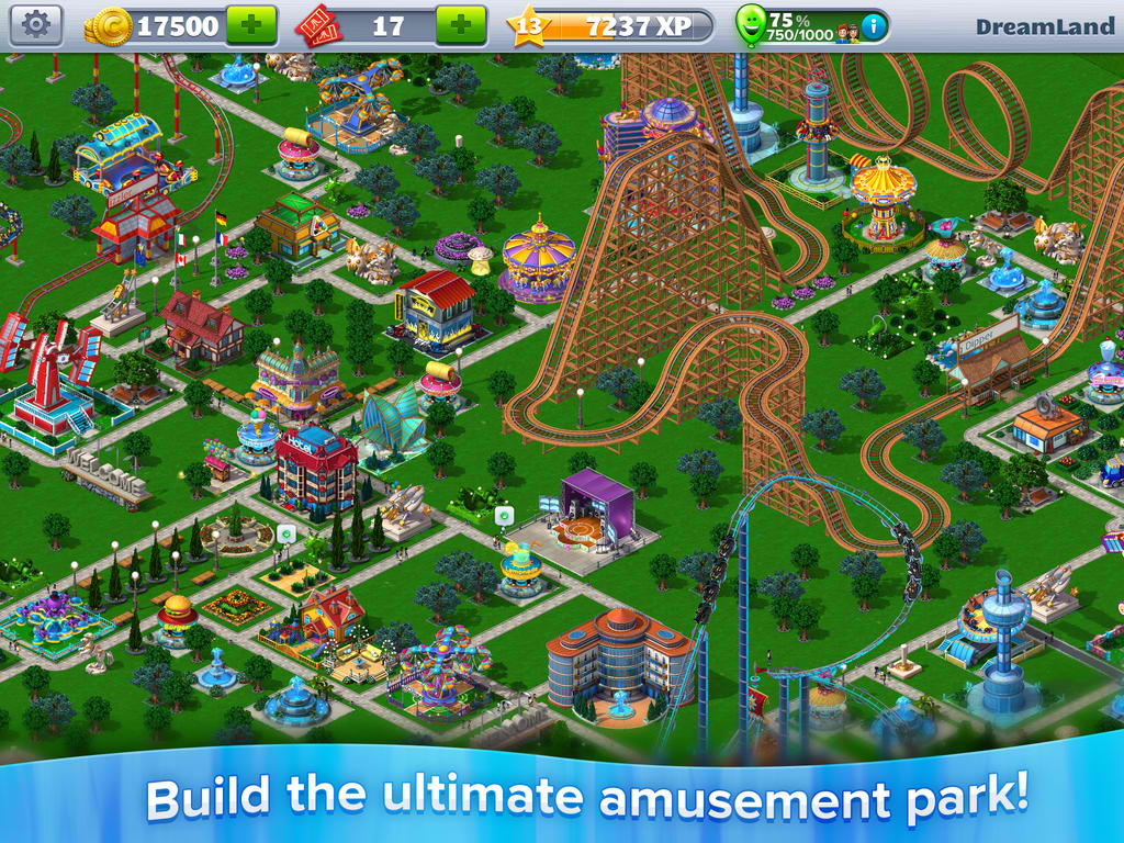 Atari updates RollerCoaster Tycoon 4 Mobile with Queue Lines, new levels and more