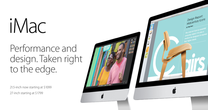 Expect Retina-equipped iMacs at Apple's next media event