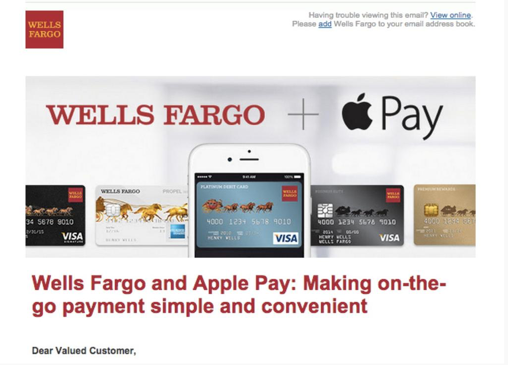 Banks set to embrace Apple Pay, shower customers with advertising