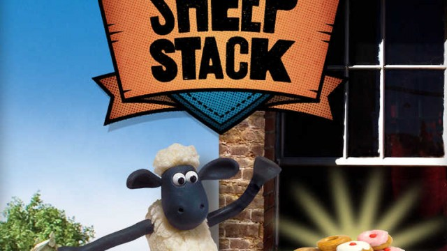 Fling and stack Shaun the Sheep and his flock in Aardman Animations' Sheep Stack