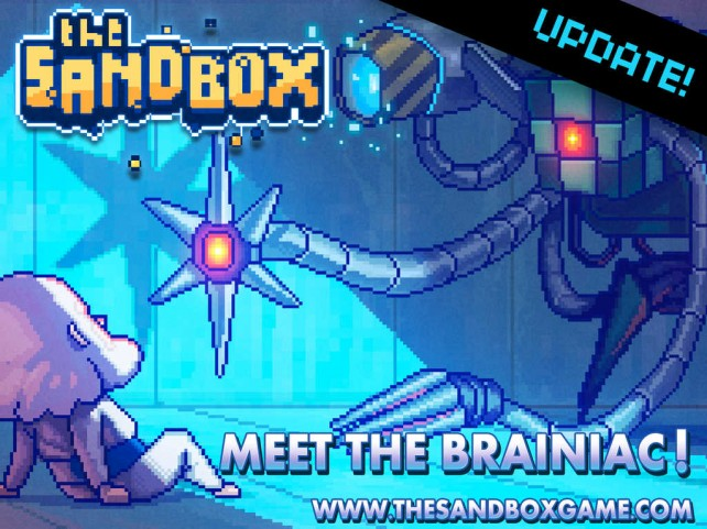 The contraption-crafting Brainiac has arrived in Pixowl's The Sandbox