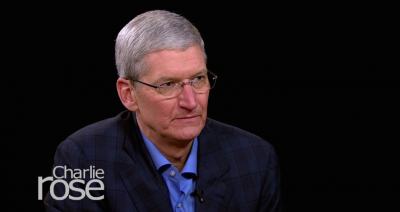 Apple CEO Tim Cook talks about privacy in part two of his interview with Charlie Rose
