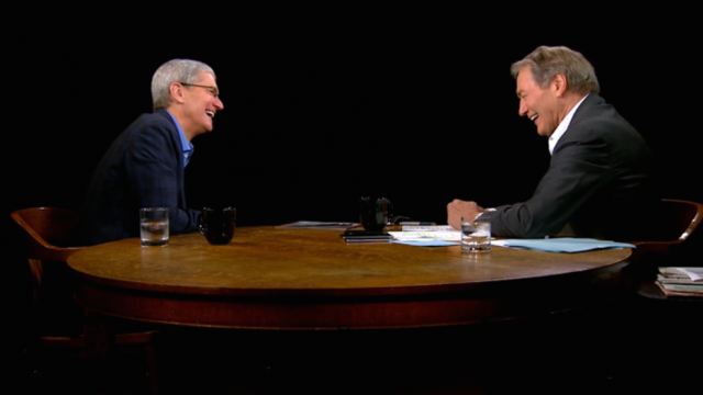 You can now stream part two of Apple CEO Tim Cook's interview with Charlie Rose