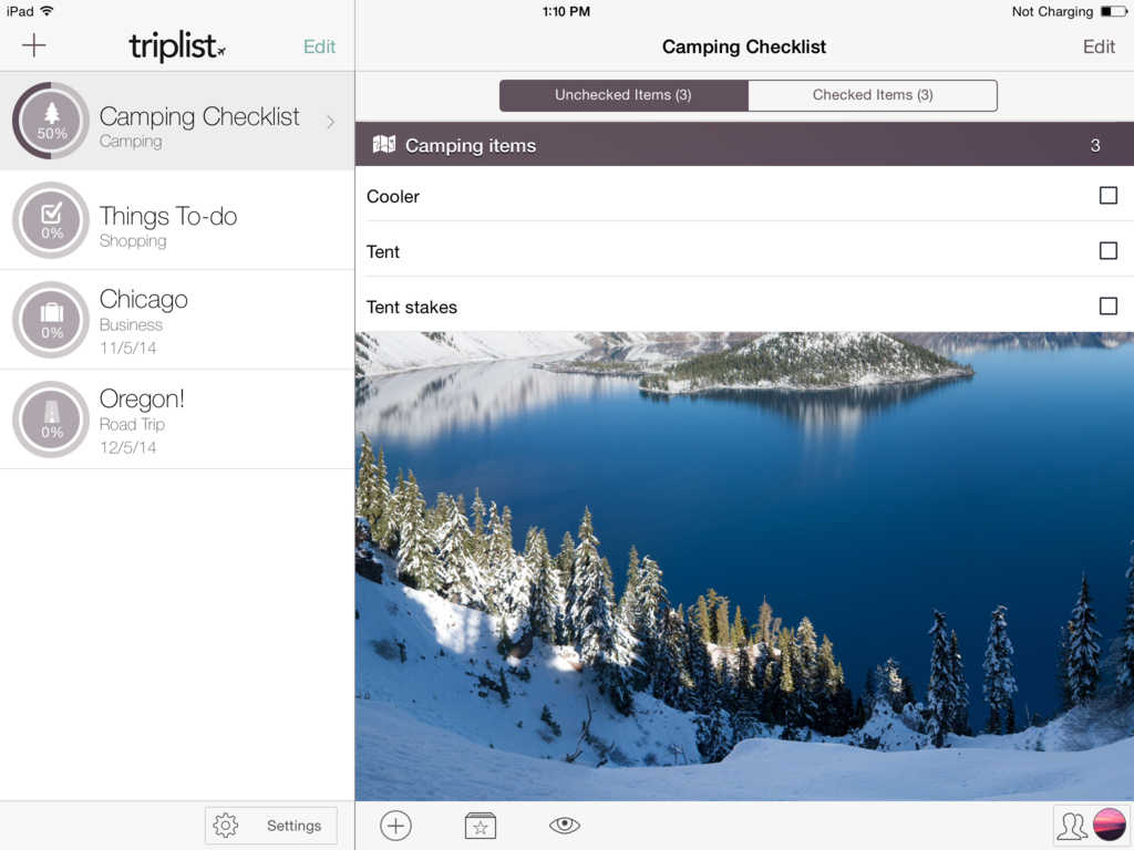 TripList 4.0 packs sub-item support, syncing tweaks and other improvements