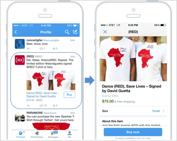 Twitter introduces new feature enabling users to shop right from its mobile apps