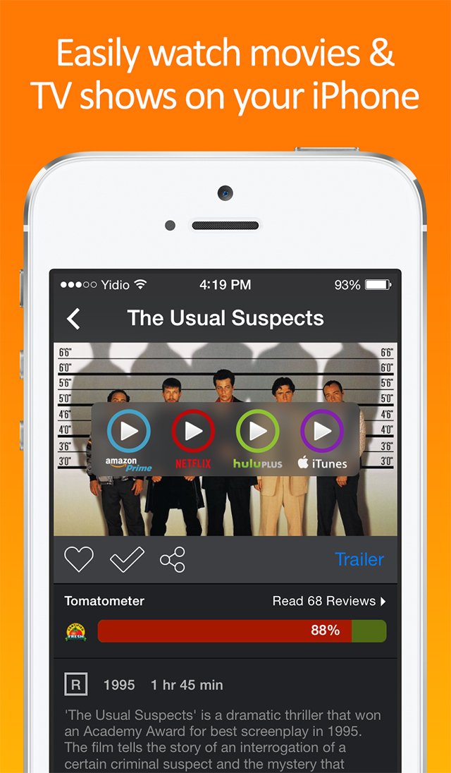 All-in-one movie and TV show search app Yidio updated to version 2.0 with new design