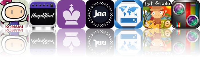 Today's apps gone free: Bomberman Chains, Amplifind, Chess Masters and more