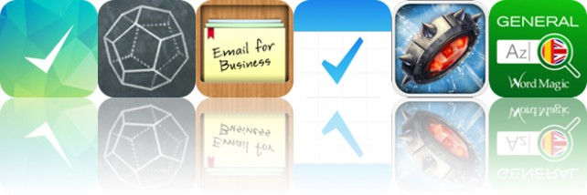 Today's apps gone free: Lists To-Do, iCrosss, Email for Business and more