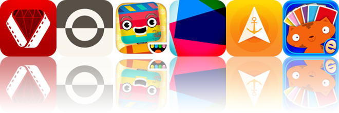 Today's apps gone free: Vizzywig, Fonta, Toca Robot Lab and more