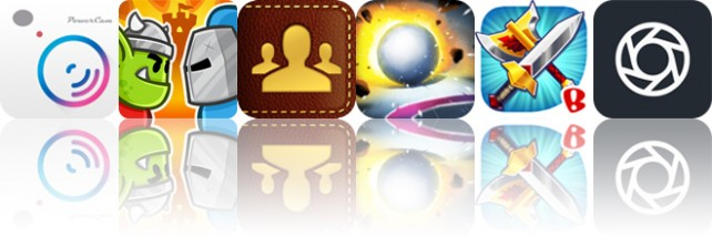 Today's apps gone free: PowerCam 7, Castle Raid 2, Guest List Organizer and more