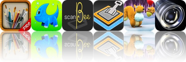 Today's apps gone free: MyBrushes, Urp!, ScanBee and more