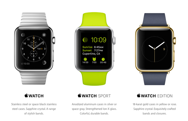 It looks like the Apple Watch will need to be charged nightly