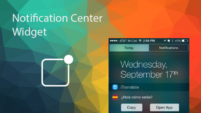 Expand the convenience of the iOS 8 Notification Center with these widget-enabled apps