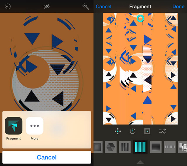 An iOS 8 update for powerful photo app Fragment brings Handoff support and more