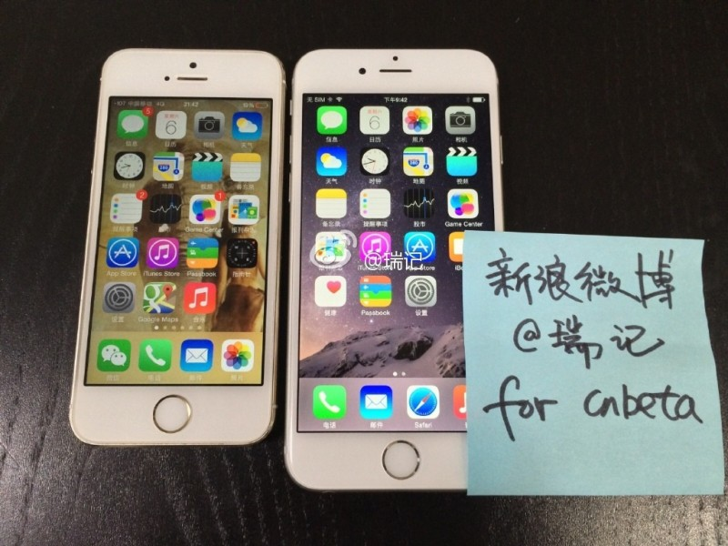 Purported actual working unit of Apple's 'iPhone 6' shown off in new photos and videos