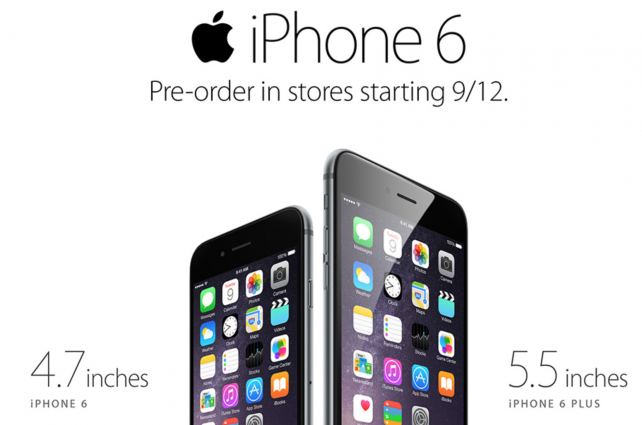 Walmart to offer discounts of at least $20 on Apple's iPhone 6 and iPhone 6 Plus