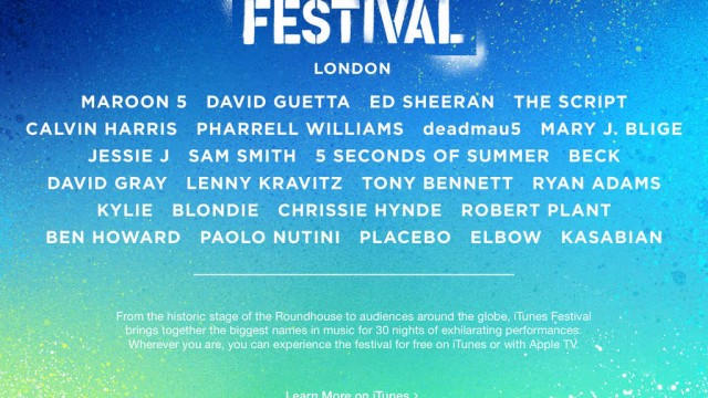 Apple's iTunes Festival London 2014 lineup is all set with Plácido Domingo and more